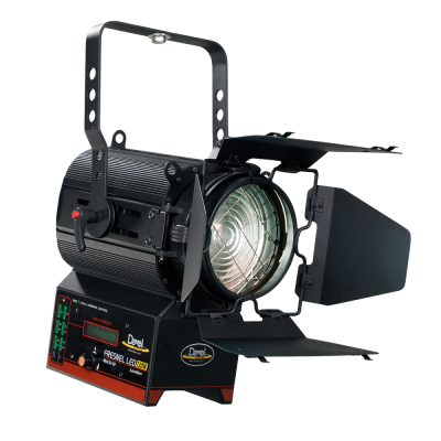 FRESNEL LED COMPACT 120W DMX SINGLE COLOR 3200K° o 5600K°